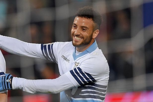 Felipe Anderson has been linked with a Manchester United Transfer