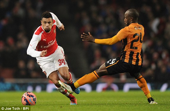 Coquelin has been solid for Arsenal since January