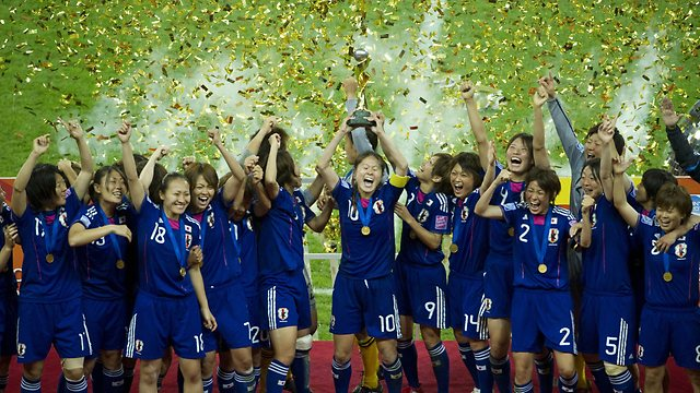 Japan won the 2011 Women's World Cup