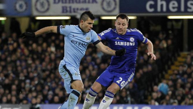 Sergio Aguero vs John Terry
