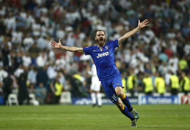 Leonardo Bonucci Juventus vs Real Madrid Champions League 2015