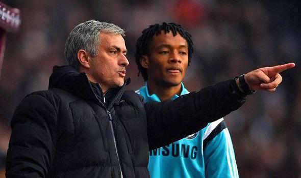 Jose Mourinho and Cuadrado: Player failed to make any impact last season
