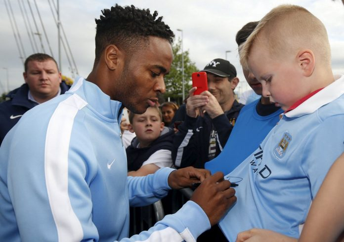 Sterling signed for Manchester City from Liverpool this summer