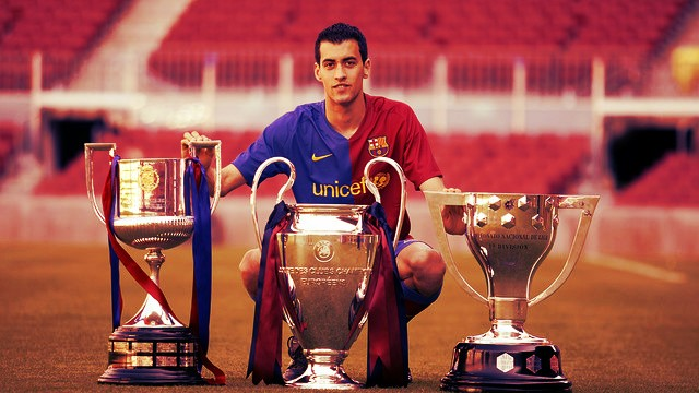 Sergio Busquets has won everything with Barcelona and Spain