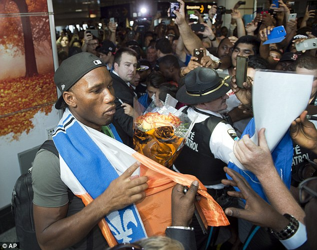 Chelsea Transfer News: Drogba completes MLS move