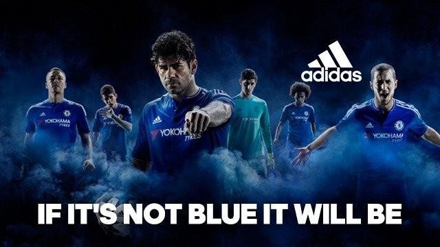 Chelsea 15/16 home kit