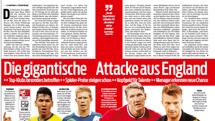 BILD: Arsenal Transfer on the cards for Reus?