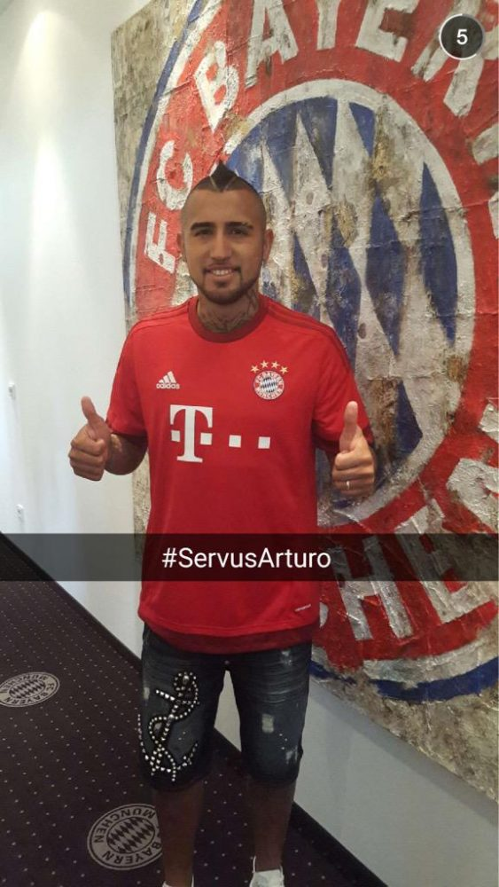 Vidal wants to win Bundesliga and Champions League with Bayern Munich