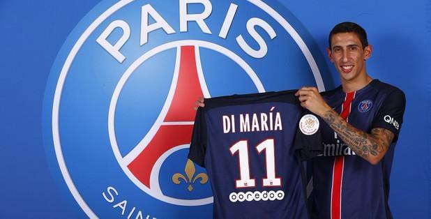 Manchester United Transer: Di Maria completes PSG move