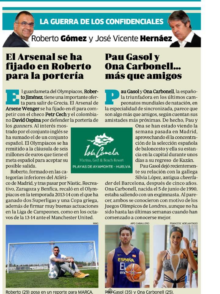 Arsenal Transfer: Wenger interested in Olympiakos keeper,  Jimenez