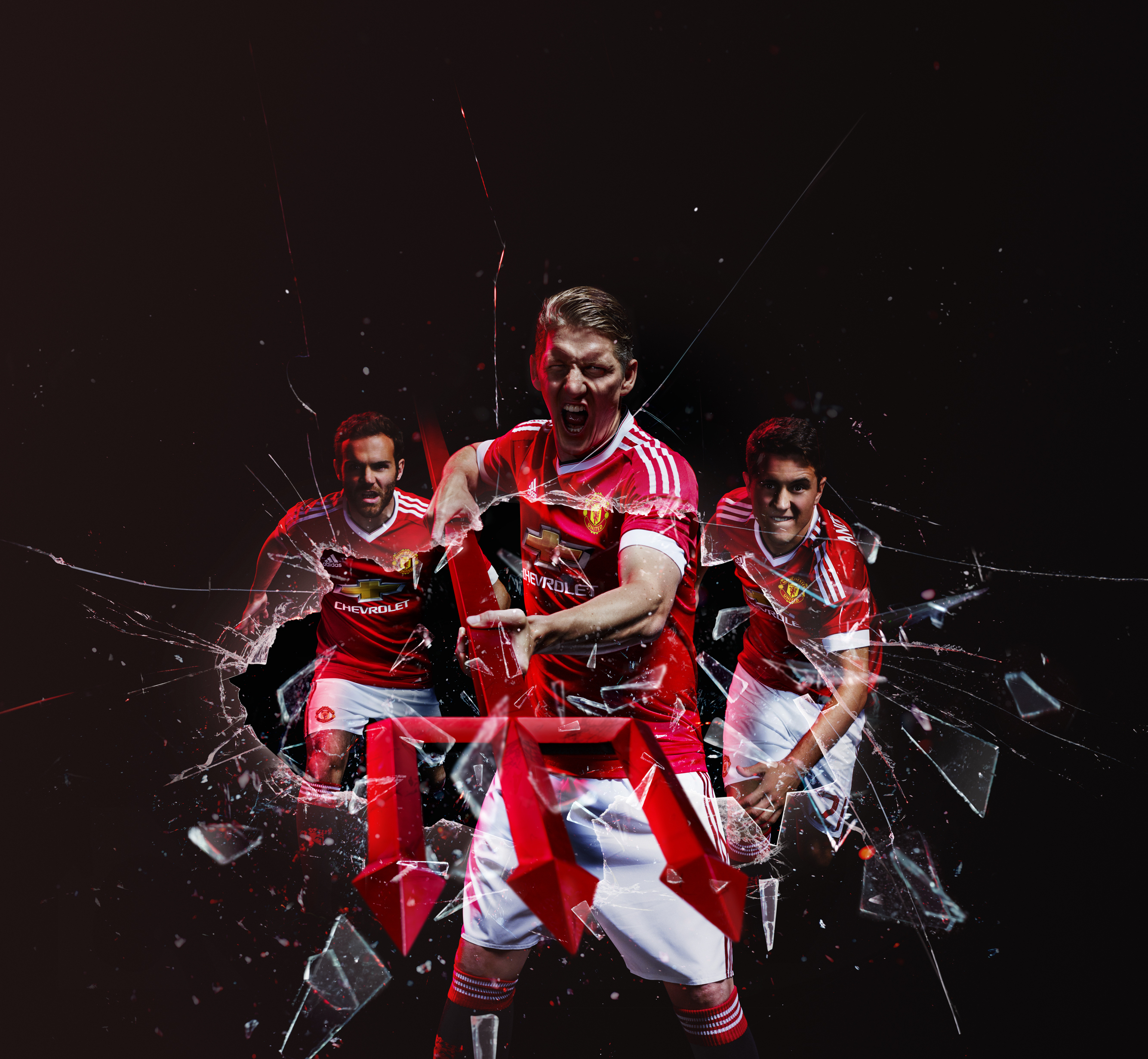 Adidas Manchester United 15-16 kits