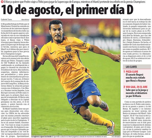 Pedro Transfer