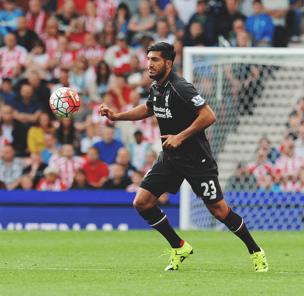 Emre Can made a difference when he came on