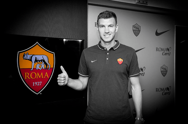 Manchester City Transfer: Dzeko completes his move to Roma