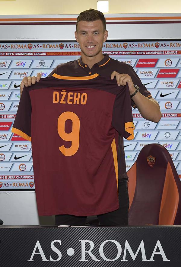 Manchester City Transfer: Dzeko to wear the number 9 shirt at Roma
