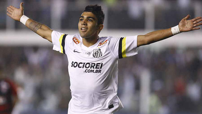 Arsenal are keen to sign Gabigol