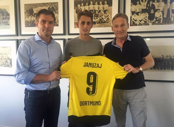 Januzaj joined Borussia Dortmund on loan this season from Manchester United