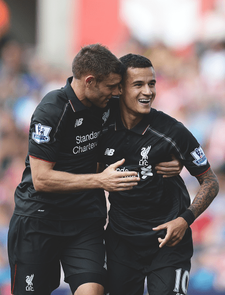 Milner and Coutinho did well to create chances late in the game