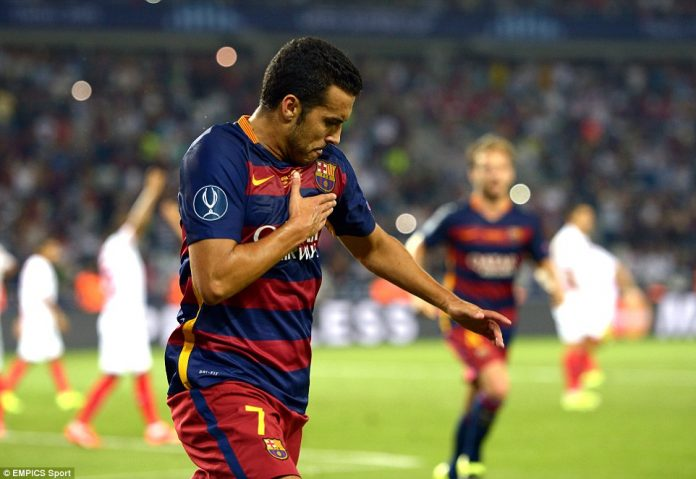 Chelsea signing Pedro was a long term target for Manchester United