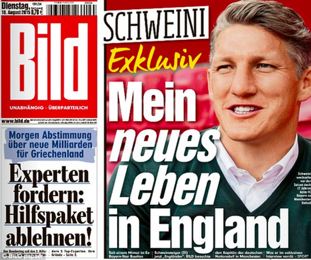 Schweinsteiger joined United because of the club and not just Van Gaal