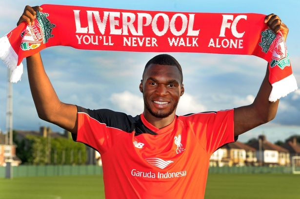 Benteke became Liverpool's second most expensive signing this summer.