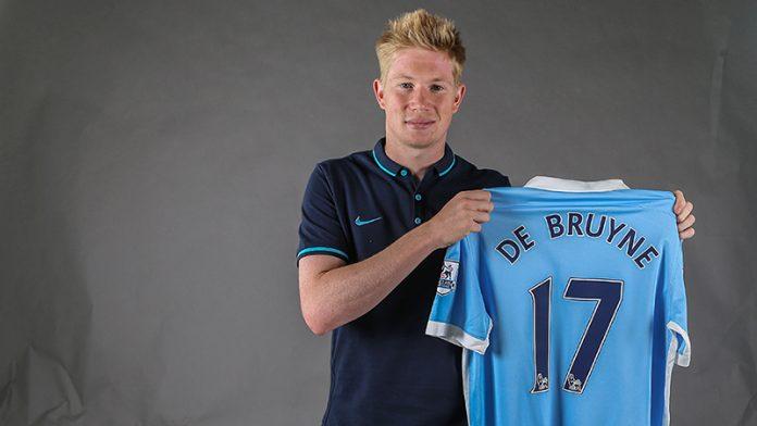De Bruyne Manchester City