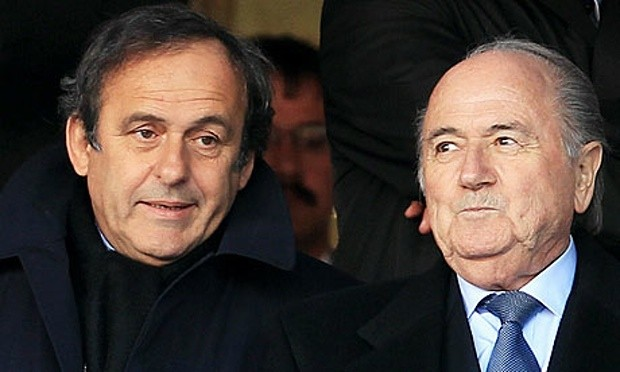Platini and Blatter have been suspended for 90 days from Football
