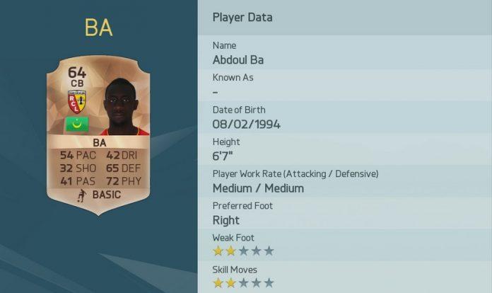FIFA 16: Abdoul Ba