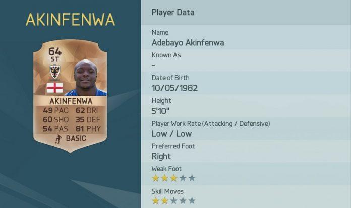 FIFA 16: Akinfenwa