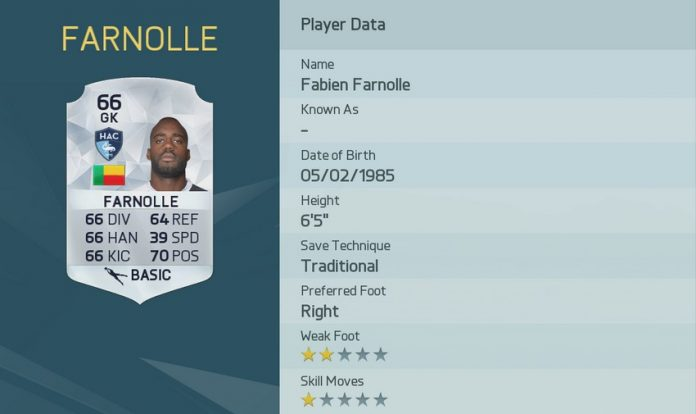 FIFA 16: Fabien Farnolle