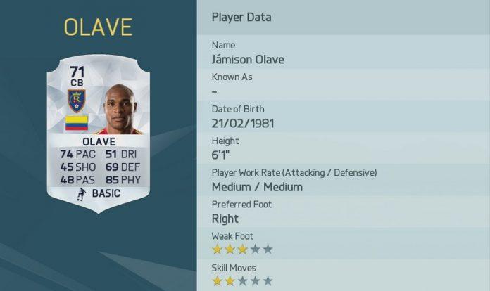 FIFA 16: Olave