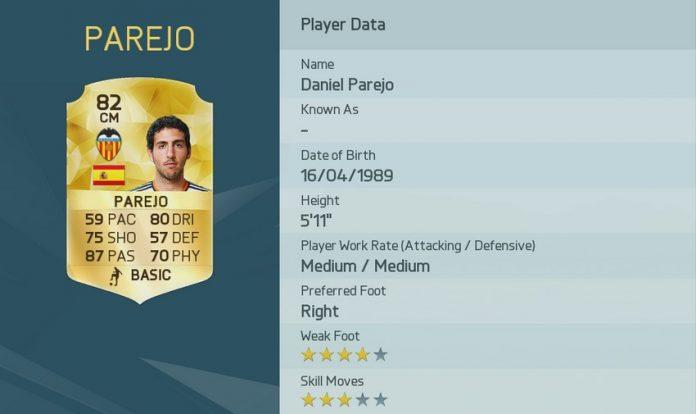 FIFA 16: Dani Parejo