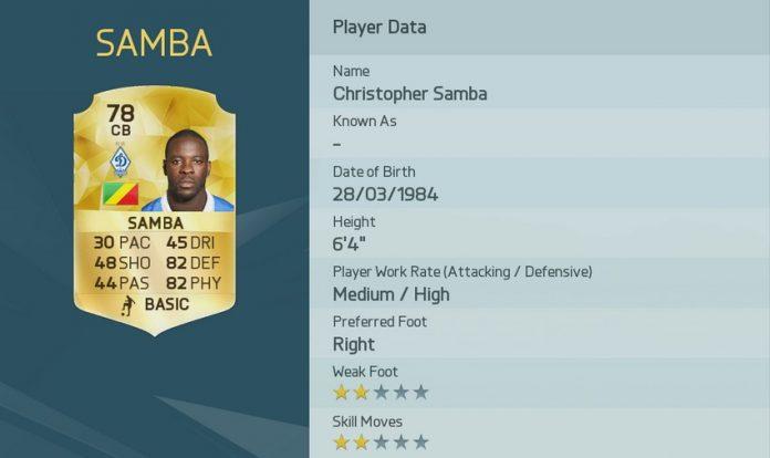 FIFA 16: Samba