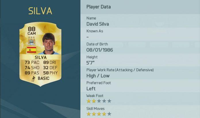 FIFA 16: David Silva