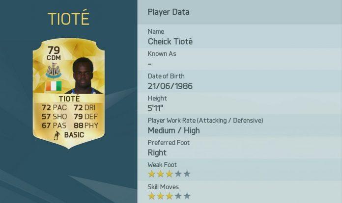 FIFA 16: Tiote