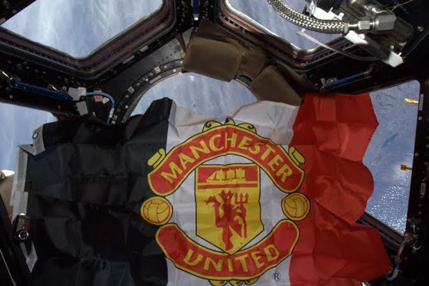 Man-United-fans-fly-the-flag-on-the-International-Space-Station