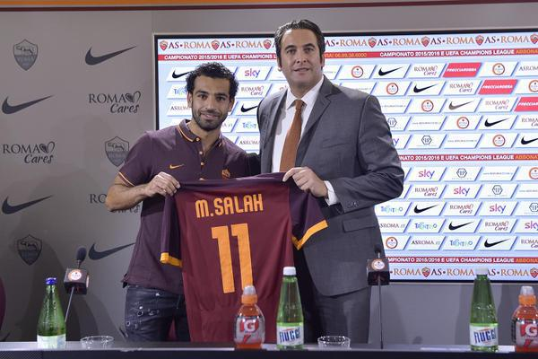 Mohamed-Salah-AS-Roma-unveiling