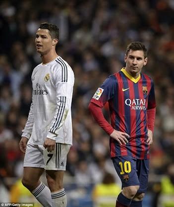 Cristiano Rinaldo Lionel Messi