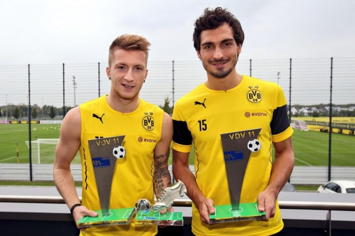 Marco Reus and Mats Hummels
