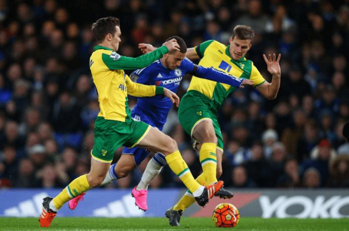 Eden Hazard Norwich City