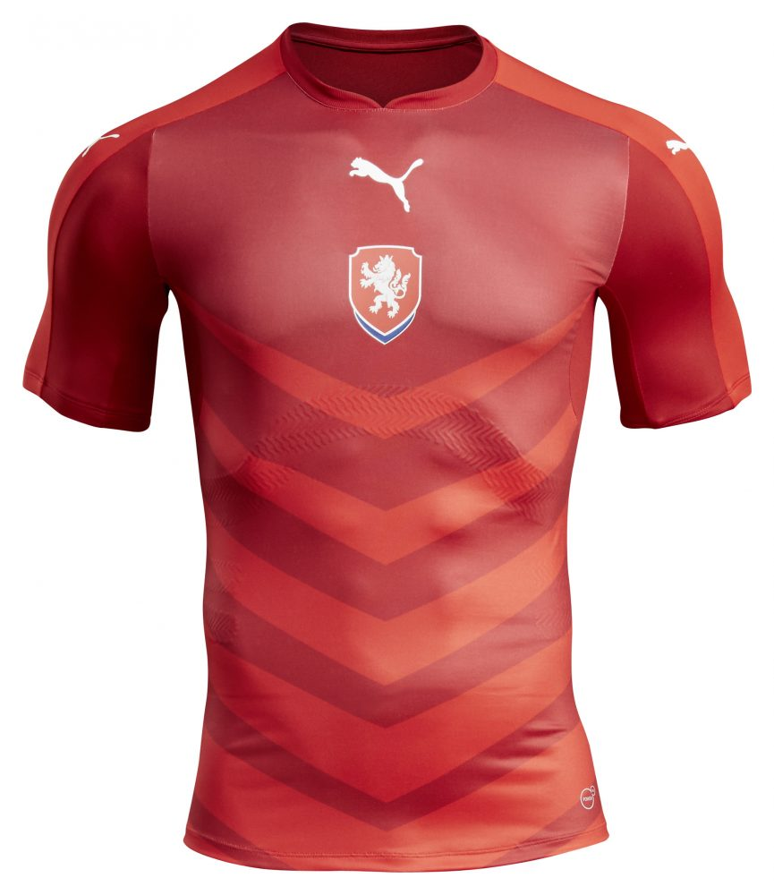 PUMA & FACR Launch the New Czech Republic Home Kit_5