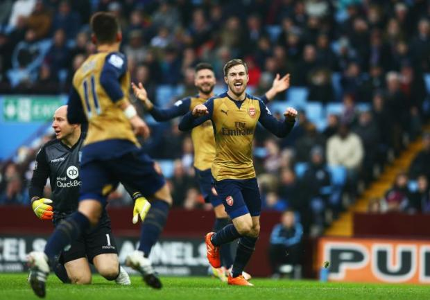 Aston Villa 0-2 Arsenal