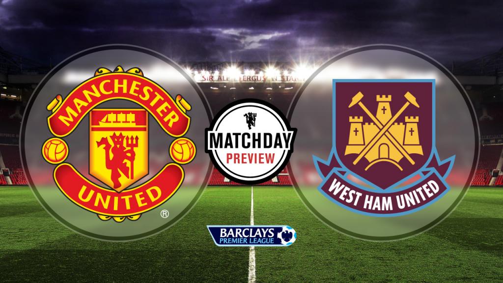Manchester United vs West Ham, Premier League 2015: Team ...