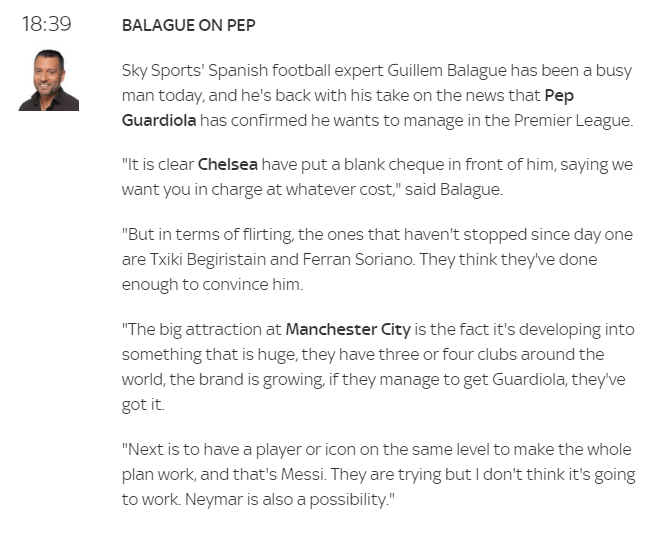 Image Source: Sky Sports
