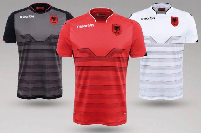 Albania Euro 2016 kits