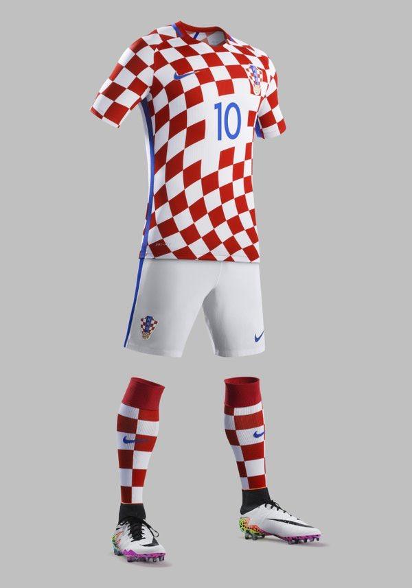 Croatia Euro 2016 kits
