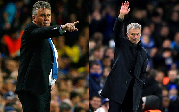 Guus Hiddink-Jose Mourinho