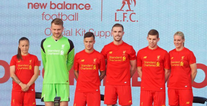 Liverpool 2016-17 Home Kit