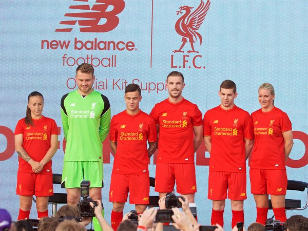 Liverpool 2016-17 Home Kit