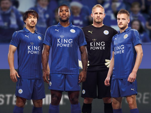 Leicester City 2016-17 Home Kit